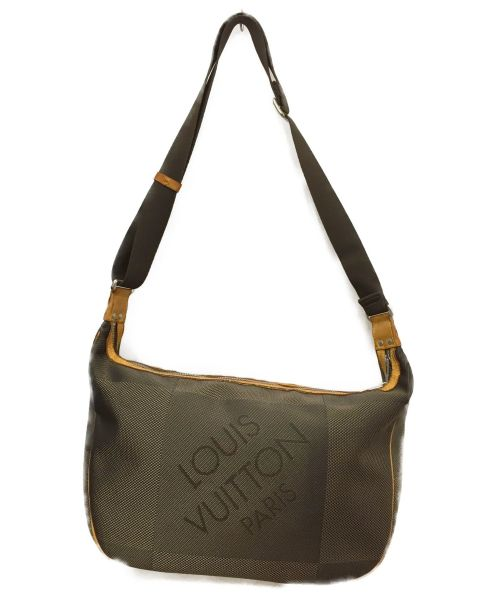 LOUIS VUITTON(ルイ ヴィトン)LOUIS VUITTON (ルイ ヴィトン) ショルダーバッグ ブラウン ダミエ・ジェアン M93615 SP4190の古着・服飾アイテム