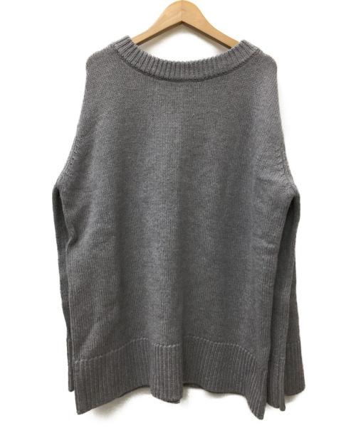 AP STUDIO(エーピーステゥディオ)AP STUDIO (エーピーステゥディオ) ウールプルオーバー グレー サイズ:SIZE FREE 未使用品の古着・服飾アイテム