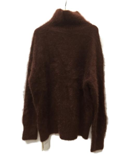 plage de chanel(プラージュ)plage de chanel (プラージュ) タートルネックニット ブラウン サイズ:SIZE FREE 未使用品の古着・服飾アイテム