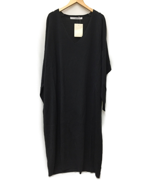 FRAMeWORK(フレームワーク)FRAMeWORK (フレームワーク) ニットワンピース ブラック サイズ:SIZE FREE 未使用品の古着・服飾アイテム