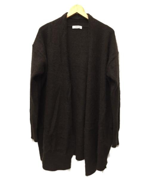 La TOTALITE(ラトータリテ)La TOTALITE (ラトータリテ) ロングカーディガン ブラウン サイズ:SIZE FREE 未使用品の古着・服飾アイテム