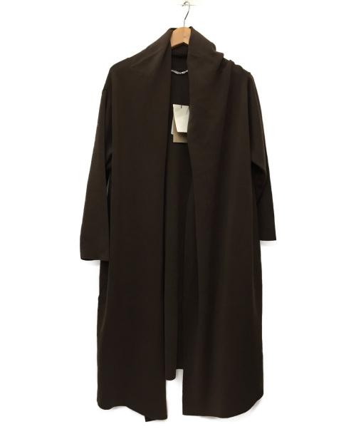 Plage(プラージュ)Plage (プラージュ) ロングガウン ブラウン サイズ:SIZE FREE 未使用品の古着・服飾アイテム