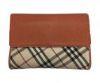 BURBERRY(バーバリー)の古着「ラウンドジップ財布」|キャメル