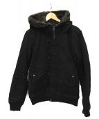 BEAMS(ビームス)の古着「ミリタリージャケット」|ブラック