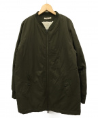 CHILD WOMAN(チャイルドウーマン)の古着「内ボアライナー付コート」 オリーブ