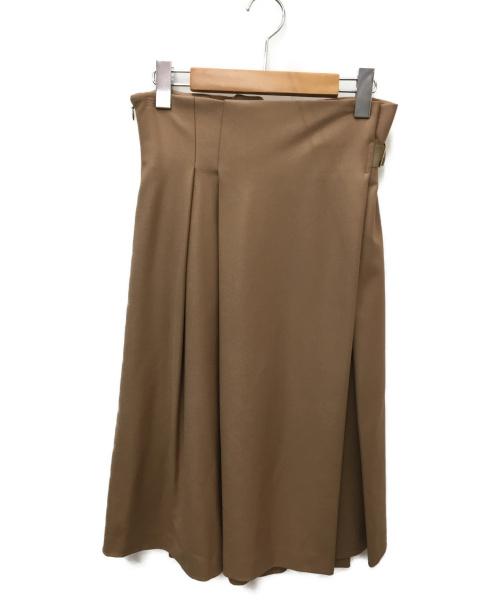 Swingle(スウィングル)Swingle (スウィングル) スカート キャメル サイズ:SIZE M 未使用品の古着・服飾アイテム