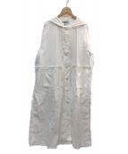 SUGAR ROSE(シュガーローズ)の古着「マウンテンパーカーコート」|ホワイト