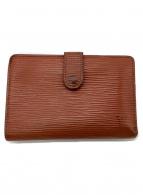 LOUIS VUITTON(ルイヴィトン)の古着「2つ折り財布」|ブラウン