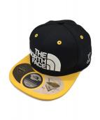 THE NORTH FACE(ザノースフェイス)の古着「WP TRUCKER CAP」|ブラック×イエロー