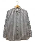 Phlannel(フランネル)の古着「シャツ」 グレー×ホワイト