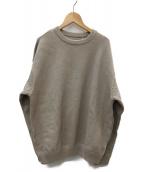 crepuscule(クレプスキュール)の古着「モススティッチスウェット」|グレー