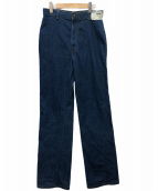 ()の古着「70'S デニムパンツ」|インディゴ