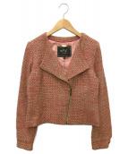 agnes b(アニエスベー)の古着「コート」|ピンク