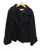 LAISSE PASSE(レッセパッセ)の古着「ウールジャケット」|ブラック