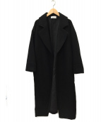 Mila Owen(ミラオーウェン)の古着「ウールコート」|ブラック