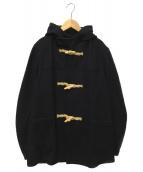 FIDELITY(フィデリティ)の古着「メルトンダッフルコート」 ネイビー