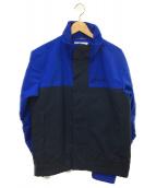 ()の古着「ライアンストリームジャケット」|ブルー×ブラック