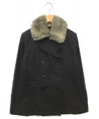BURBERRY LONDON(バーバリーロンドン)の古着「ショートコート」|ブラック