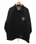 BEN DAVIS(ベン デイビス)の古着「コーチジャケット」|ブラック
