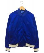 adidas Originals(アディダスオリジナル)の古着「バック刺繍ジャケット」|ブルー