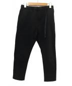 GRAMICCI(グラミチ)の古着「スウェットナロークライミングパンツ」|ブラック