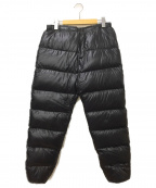 NANGA(ナンガ)の古着「スーパーライトダウンパンツ」|ブラック