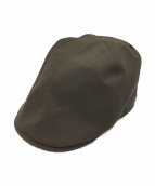 BURBERRY BLACK LABEL(バーバリーブラックレーベル)の古着「ハンチング」|オリーブ