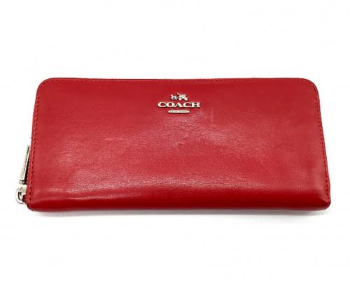 COACH(コーチ)COACH (コーチ) 長財布 レッド 53707の古着・服飾アイテム