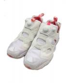 REEBOK(リーボック)の古着「スニーカー」|ホワイト×ピンク
