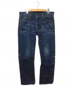 KURO(クロ)の古着「デニムパンツ」|ブルー