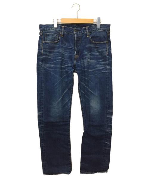KURO(クロ)KURO (クロ) デニムパンツ ブルー サイズ:サイズ表記なしの古着・服飾アイテム