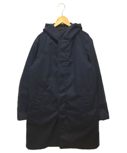 SHIPS(シップス)SHIPS (シップス) フーデッドステンカラーコート ネイビー サイズ:SIZE Mの古着・服飾アイテム