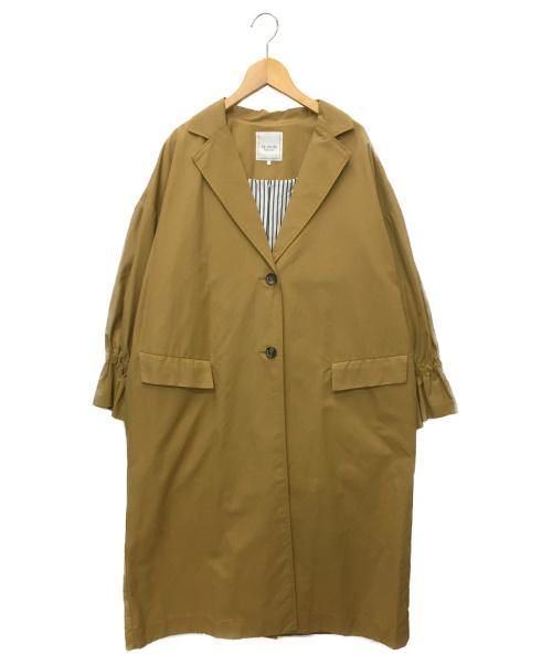 Te chichi(テチチ)Te chichi (テチチ) ビッグシルエットチェスターコート ベージュ サイズ:SIZE FREEの古着・服飾アイテム