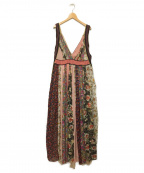 ZARA(ザラ)の古着「ドレスワンピース」|ピンク系