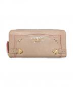Samantha Thavasa PETIT CHOICE(サマンサタバサプチチョイス)の古着「長財布」|ピンク