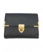 Samantha Thavasa(サマンサタバサ)の古着「2つ折り財布」|ブラック