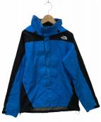 ()の古着「レインテックプラズマ」 ブルー×ブラック