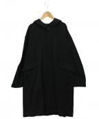 JOHNBULL(ジョンブル)の古着「フーデッドコート」 ブラック
