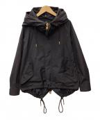 THE RERACS(ザ リラクス)の古着「ショートモッズコート」 ブラック