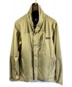 ()の古着「エコレインシェルジャケット」|カーキ