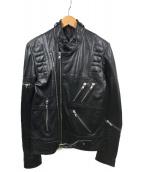 Surface to Air(サーフェストゥエア)の古着「ライダースジャケット」|ブラック