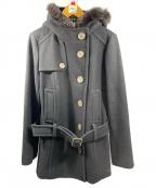 BURBERRY BLUE LABEL()の古着「ウールコート」|ブラック