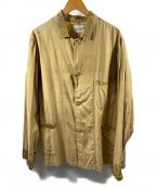 CAL O LINE()の古着「シャツジャケット」|カーキ
