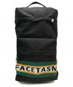 FACETASM(ファセッタズム)の古着「フラップデイパック」 ブラック×ジャマイカン