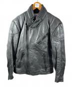 KADOYA(カドヤ)の古着「ライダースジャケット」 ブラック