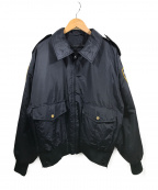 SPIEWAK(スピワック)の古着「ボンバージャケット」|ネイビー