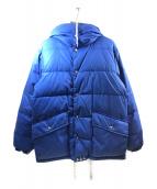 Waste(twice) ×BEAMS PLUS(ウエストトワイス ビームスプラス)の古着「ダウンジャケット」|ブルー