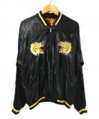 テーラー東洋(テーラートウヨウ)の古着「アセテートスカジャン」 ブラック