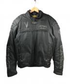 VANSON(バンソン)の古着「プロテクタージャケット」 ブラック