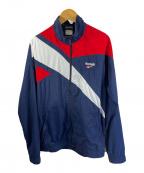 REEBOK CLASSIC(リーボック クラシック)の古着「ナイロンジャケット」|ネイビー×レッド
